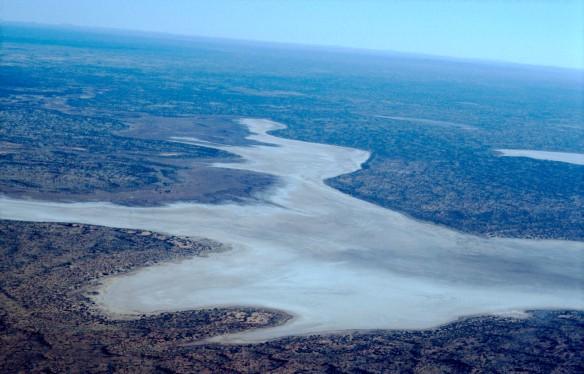 Lake Amadeus, ein Salzsee