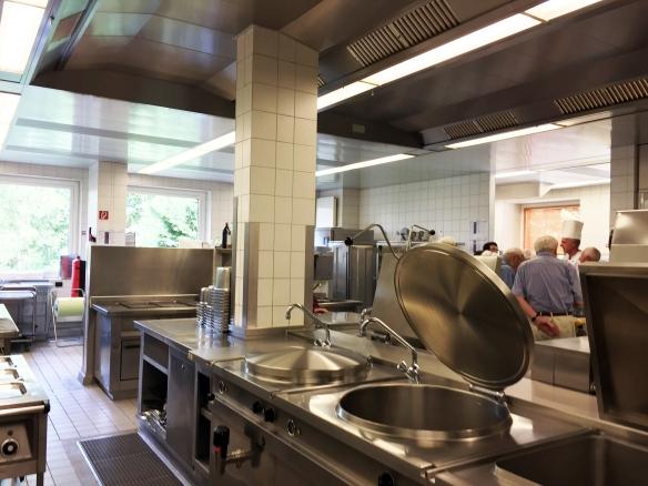 Einblick in einen Teil der Küche