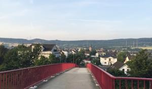 Heimersheim im ersten Sonnenlicht