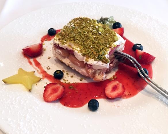 Erdbeer-Pistazien-Tiramisu, ich hätte immer weiter essen können