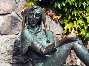 Eulenspiegel (Ausschnitt der Brunnenfigur)