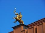 Heinrich der Löwe auf dem Rathaus