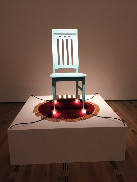 """Chen Wei """"Chair and Bulb"""""""
