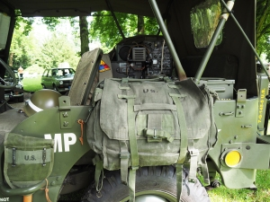 Innenleben des Jeeps