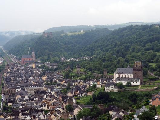 Oberwesel mit Martin- und Marienkirche