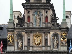 Detail vom Rathaus