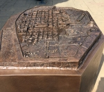 Kupferrelief von Trier zur Römerzeit