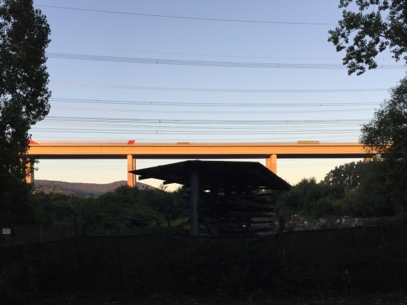 Teil der Ahrtalbrücke der A61
