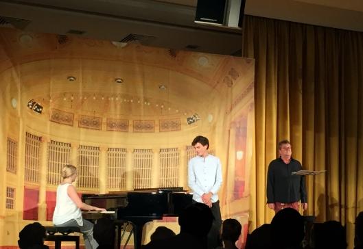 Nadia Singer, Edward Leach und Lutz Görner