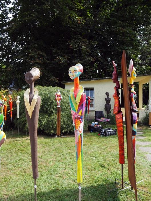 Gartenfiguren von Kachelkunst Friedrich