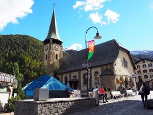 Kirche St. Mauritius und Matterhornmuseum