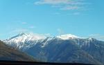 Blick auf die franz. Alpen