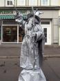 Berggeist (lebende Statue)