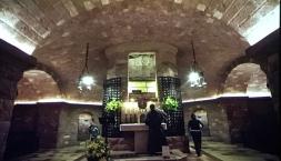 Das Grab des Franziskus