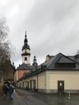 Blick zur St. Jakobi Kirche