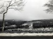 Auf der Fahrt zum Fichtelberg