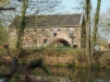 Wassermühle außerhalb der Gärten