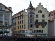 Häuser an der Reuss