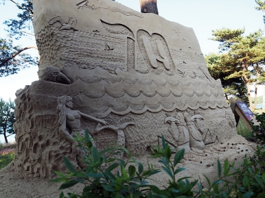 Sandskulptur 700 Jahre Binz