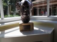 Skulptur von Hauptmanns Kopf