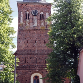 Turm der Sankt-Jakob-Kirche
