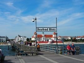 Vom Ende der Seebrücke
