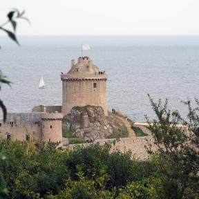 Die Burg aus dem 13. Jhdt.