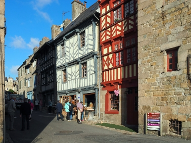 Am Anfang der Rue de Renan