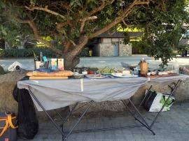 Der gut gefüllte Picknicktisch