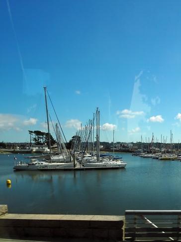 Ein Bootsanleger