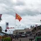 Blick in Richtung Musée du Débarquement