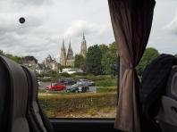 Blick zurück zur Kathedrale