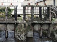 Stauwerk für die alte Mühle